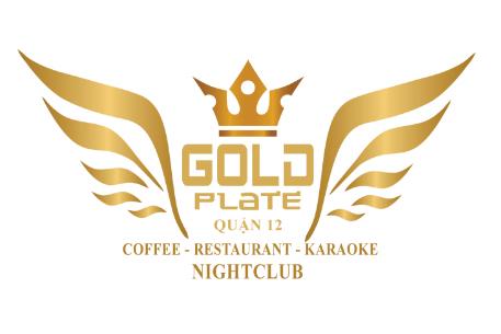 KARAOKE GOLD PLATE