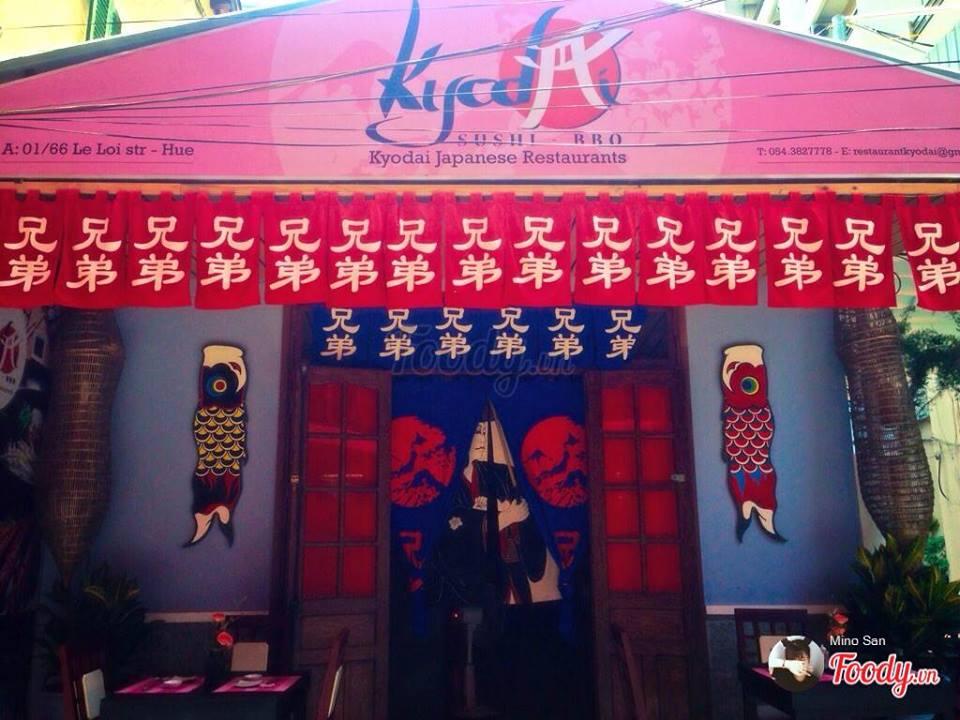 Nhà hàng Nhật tại Huế