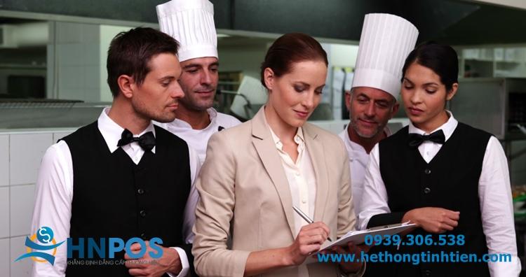 Phần mềm quản lý nhà hàng HNPOS