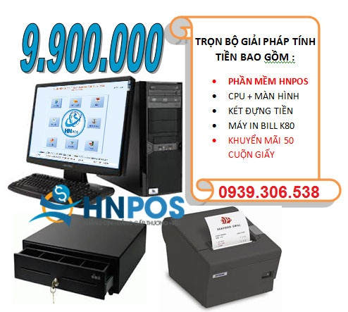Phần mềm quản lý nhà hàng - quán cafe HNPOS
