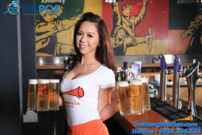 Phần mềm tính tiền Beer Club – Bar