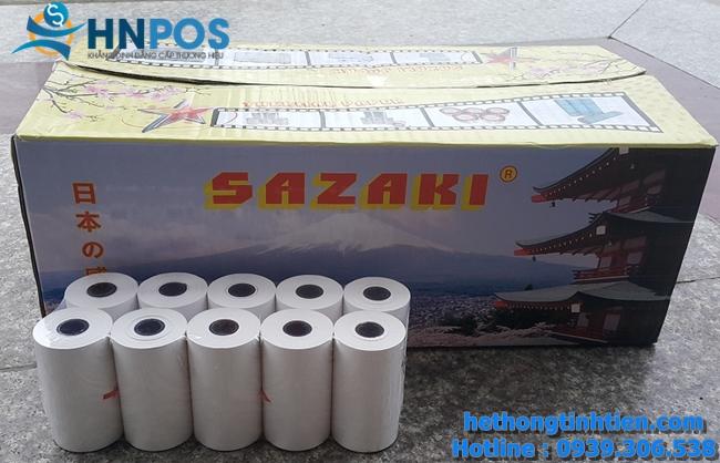 giấy in bill tính tiền sazaki nhật bản