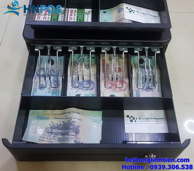 két đựng tiền thu ngân