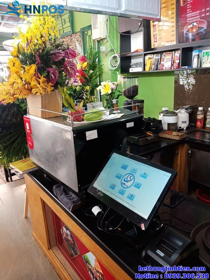 Trọn bộ máy tính tiền quán cafe