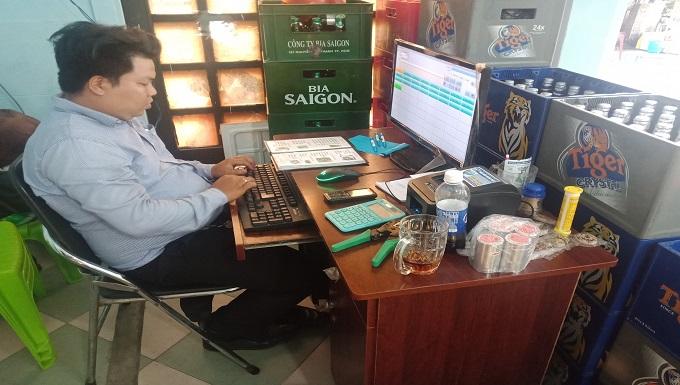 Bán máy tính tiền cho quán nhậu tại phú quốc