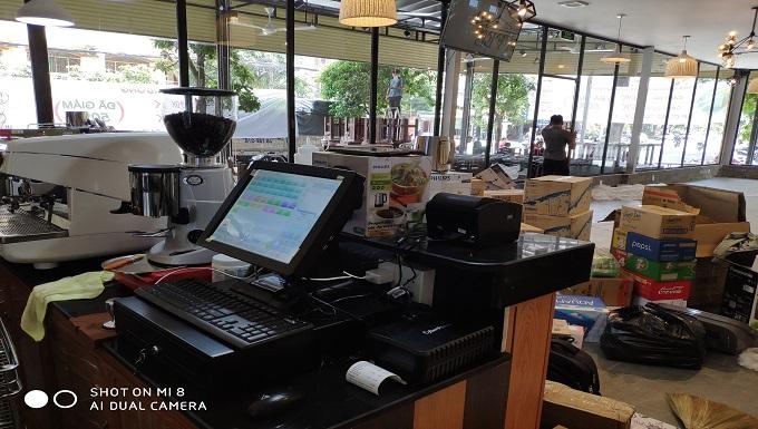 Bán máy tính tiền cho quán cafe tại đồng nai