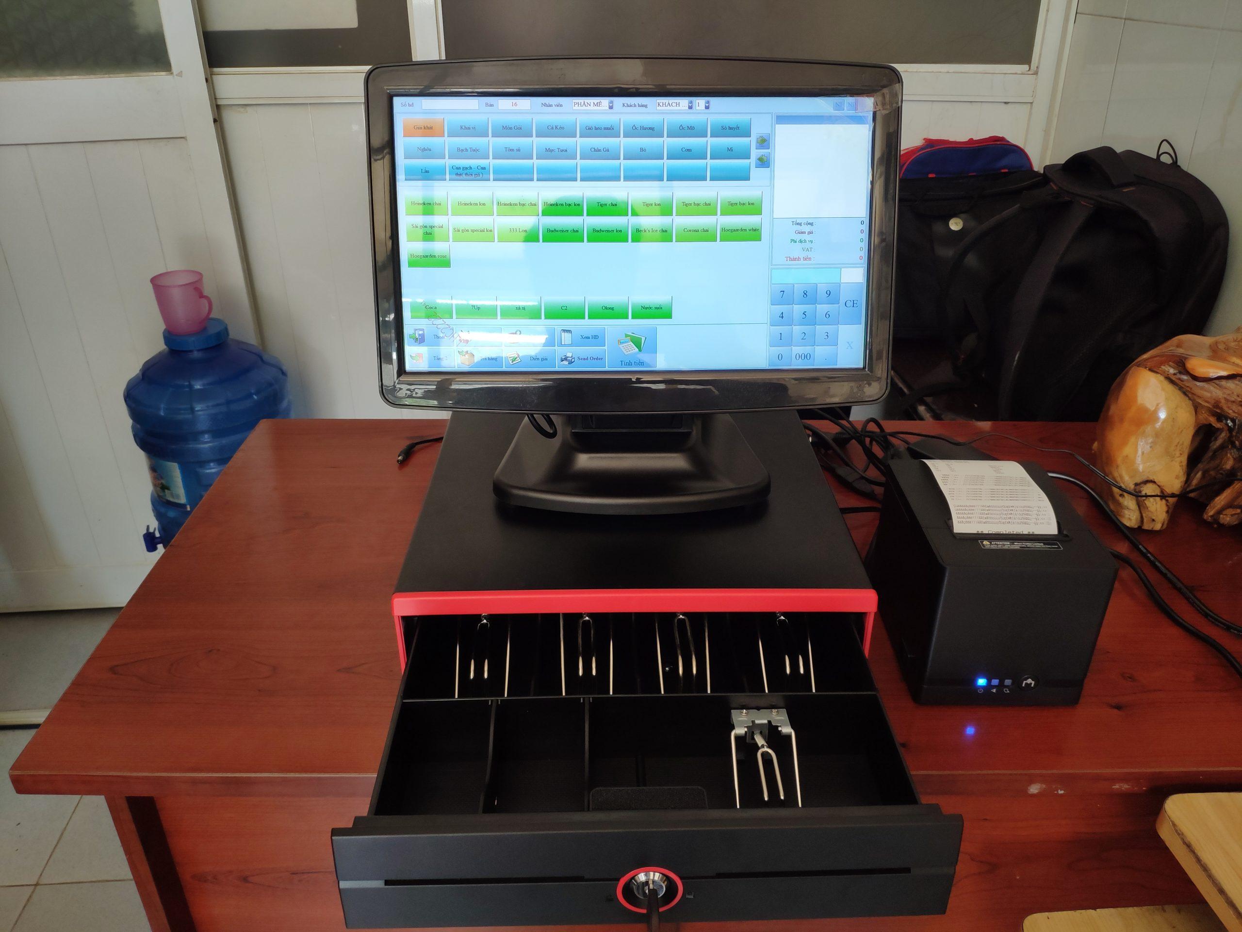 Máy tính tiền quán nhậu tại quận 6