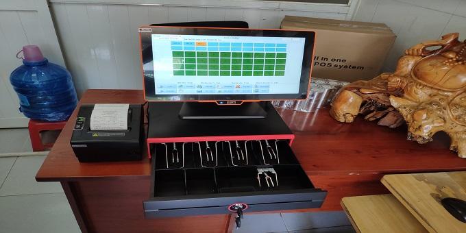 trọn bộ máy tính tiền cho cafe nhà hàng bida karaoke