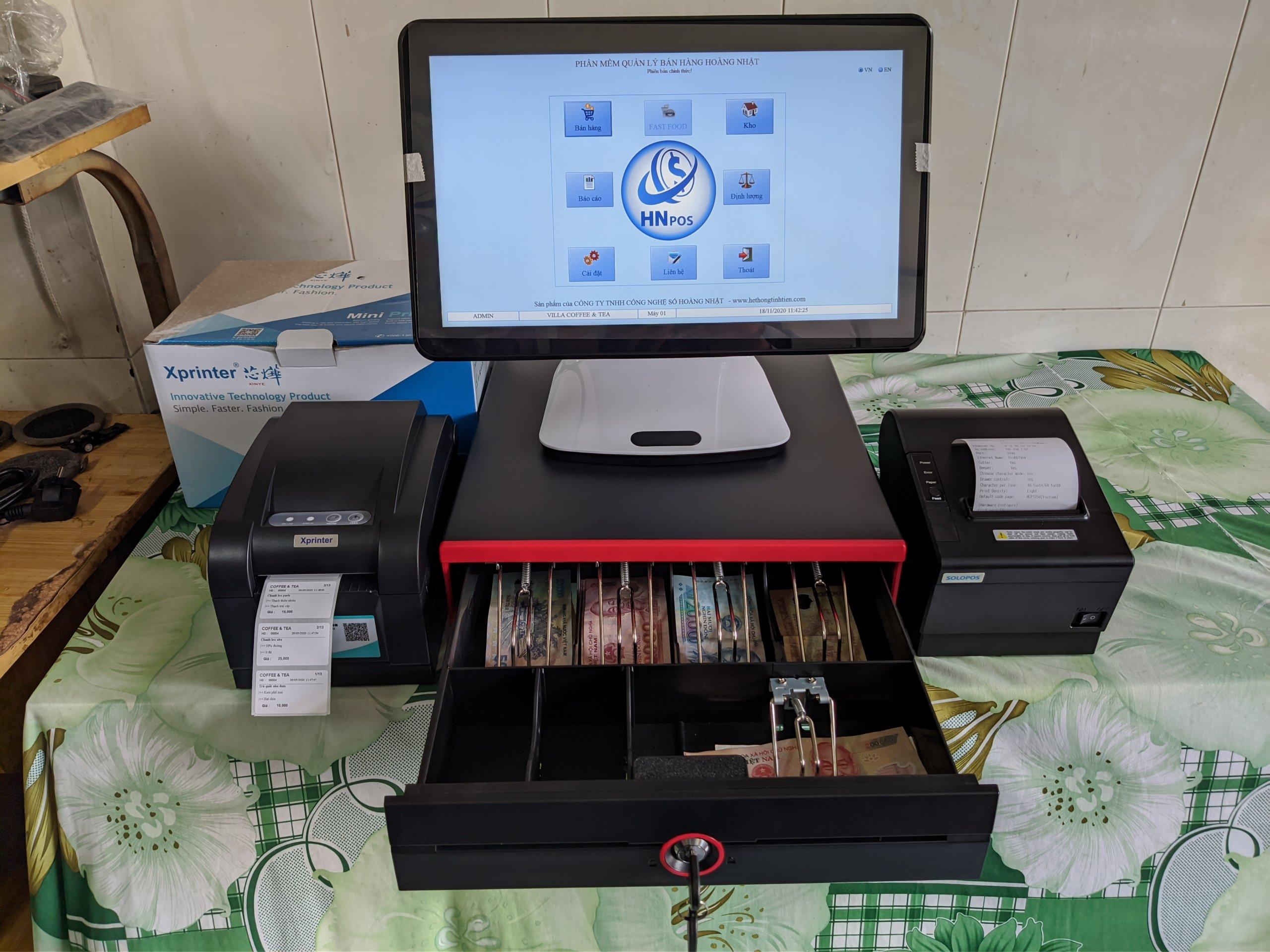 máy bán hàng pos giá rẻ